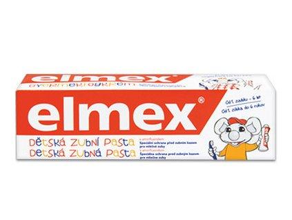 Elmex detská zubná pasta 0 6 rokov 50ml
