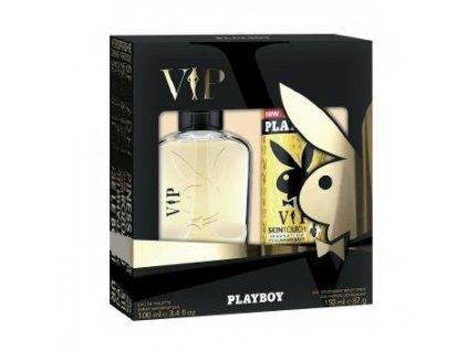 Playboy VIP EDT 60ml + deodorant 150ml darčekový set2
