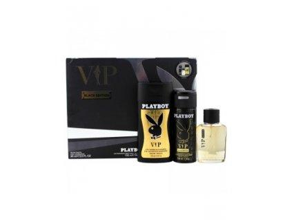 Playboy VIP EDT 60ml + deodorant 150ml + sprchový gél 250ml darčekový set
