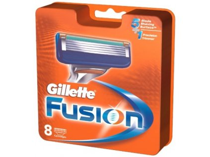 Gillette Fusion náhradné čepieľky 8ks