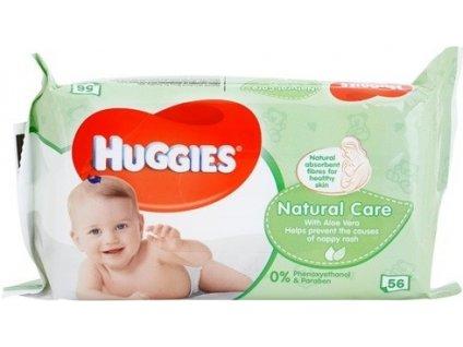 Huggies Natural Care vlhčené utierky 56ks