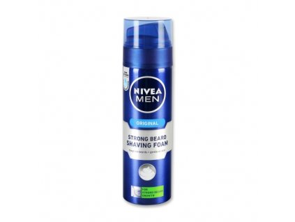 Nivea Men Original Strong Beard pena na holenie 200ml