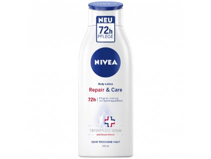 Nivea Repair & Care telové mlieko s pumpičkou 400ml