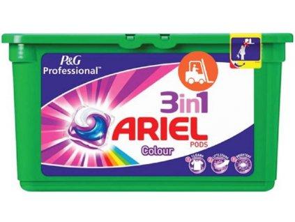 Ariel 3in1 Color gélové kapsule 30ks