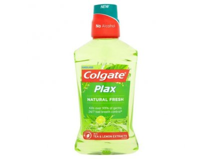Colgate Plax Natural Fresh ústna voda 500ml