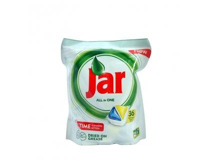 Jar All in One Lemon kapsule do umývačky riadu 36ks