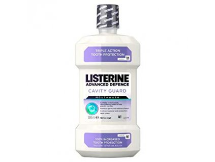 Listerine Advanced Defence Cavity Guard ústna voda 500mll