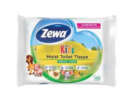 Zewa Kids vlhčený toaletný papier 42ks