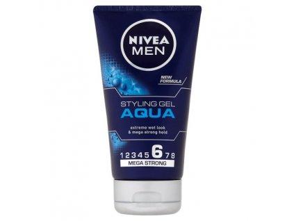 Nivea Men Aqua Gél na vlasy s mokrým efektom 150ml