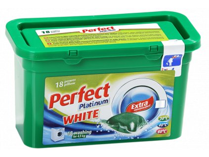 Perfect Platinum White pracie kapsule 18ks