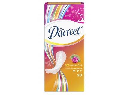 Discreet Deo Summer Fresh hygienické vložky 20ks