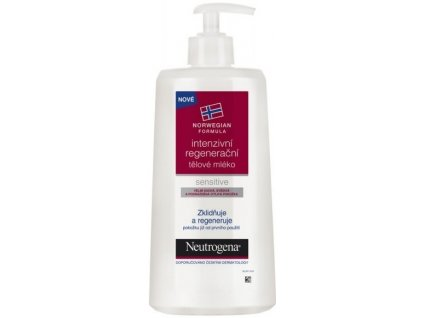 Neutrogena Intensive telové mlieko 400ml