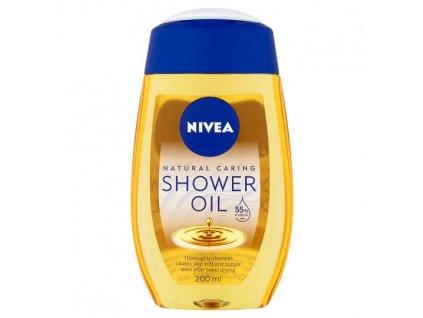 Nivea Natural Caring sprchový olej 200ml