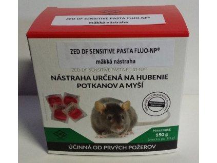 Ratrex mäkká návnada určená na hubenie potkanov a myší 150g