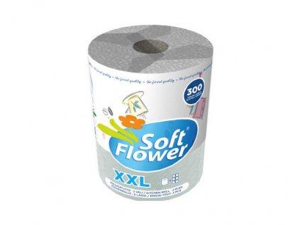 Soft Flower Decor XXL Jumbo kuchynské utierky