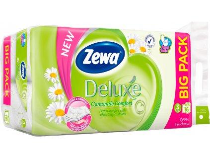 Zewa Deluxe Aquatube Chaomille Comfort toaletný papier 16ks