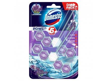 Domestos Power 5 Levander 2x55g