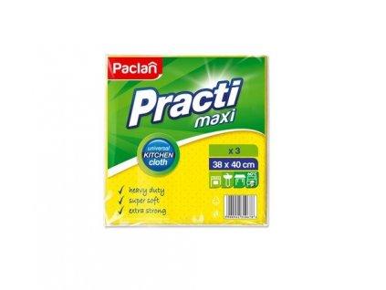 Paclan Super Soft Maxi utierky pre domáce použitie 3ks 38x40cm