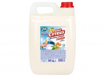 GOLD CYRUS STRONG Balzam s vitamínmi na riad citrón 5l