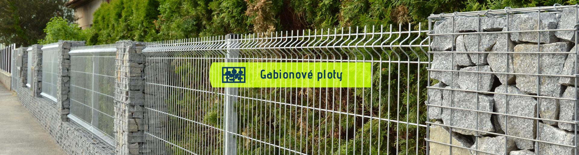 Gabionové ploty