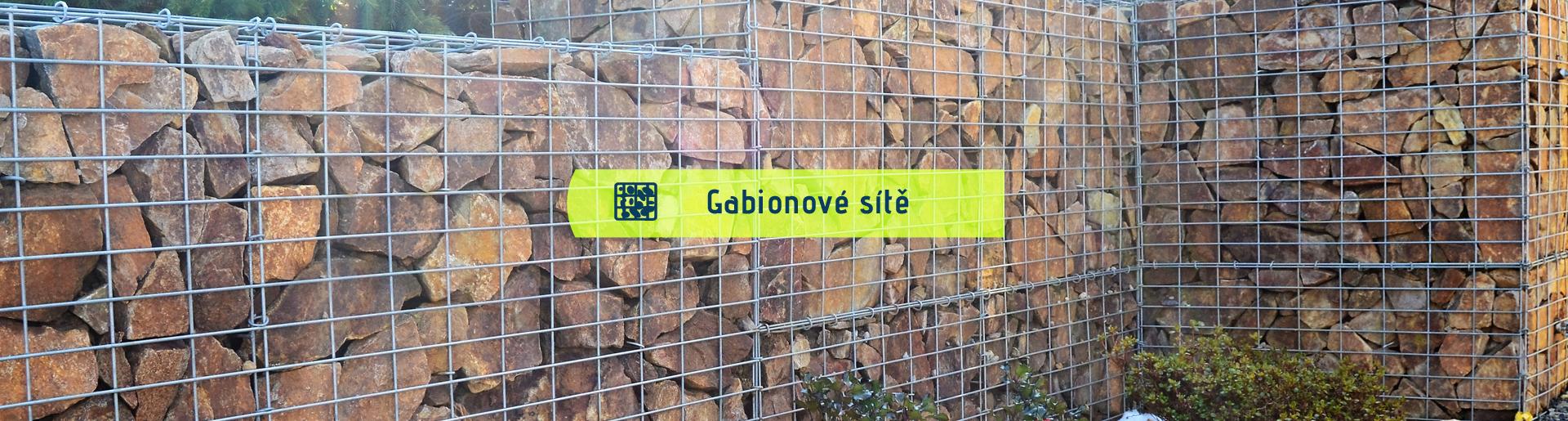 Gabionové sítě