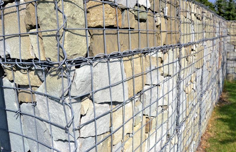Gabionové stěny 10x10cm