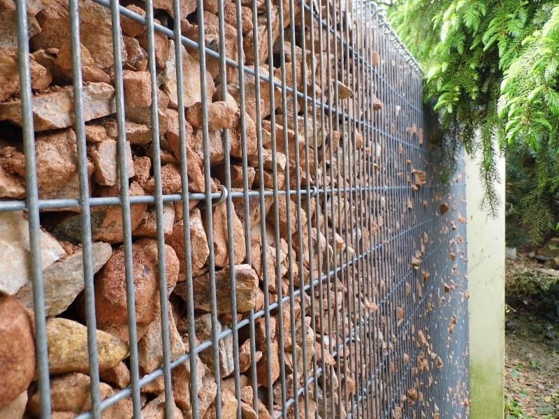 Gabionové stěny 10x2,5cm