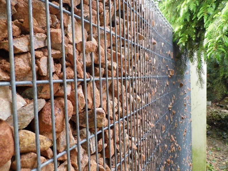 Gabionové stěny 5x5cm