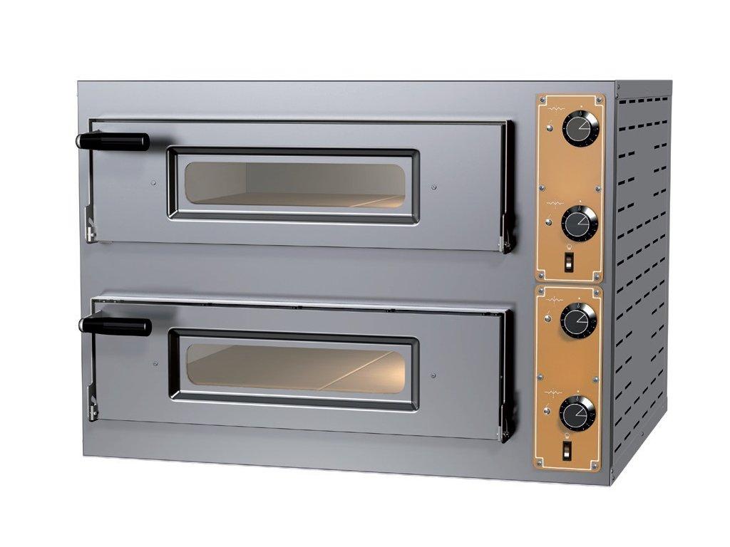 Pizza pece elektrické - dvojposchodové