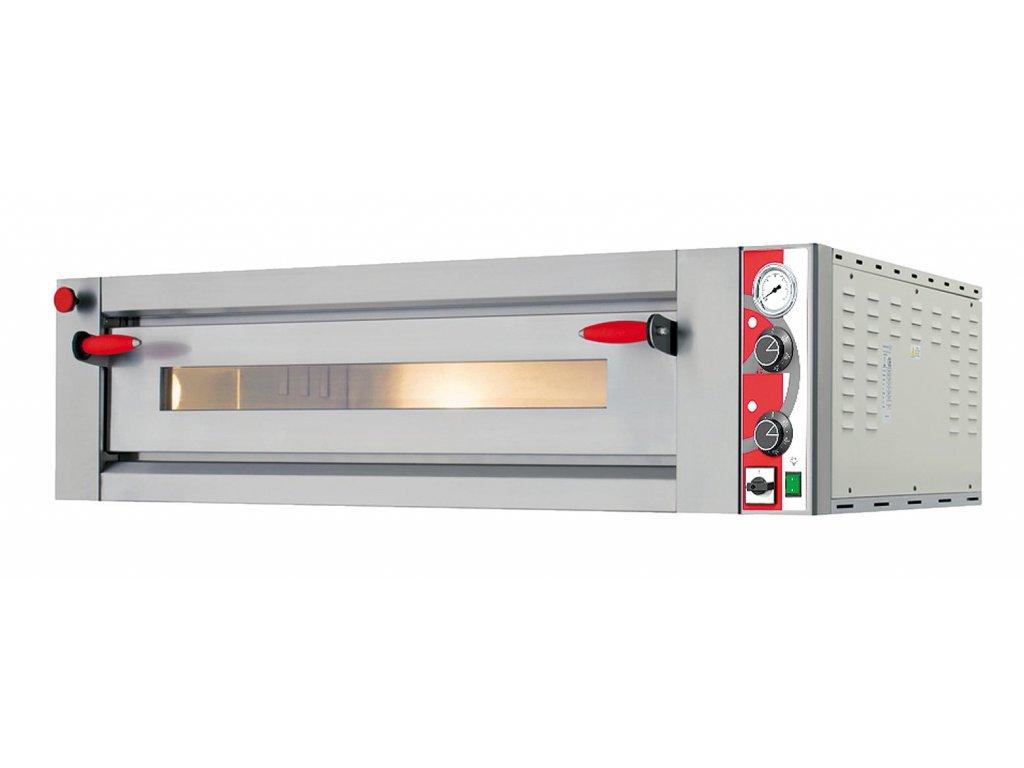Pizza pec elektrická - 9x ø34 cm