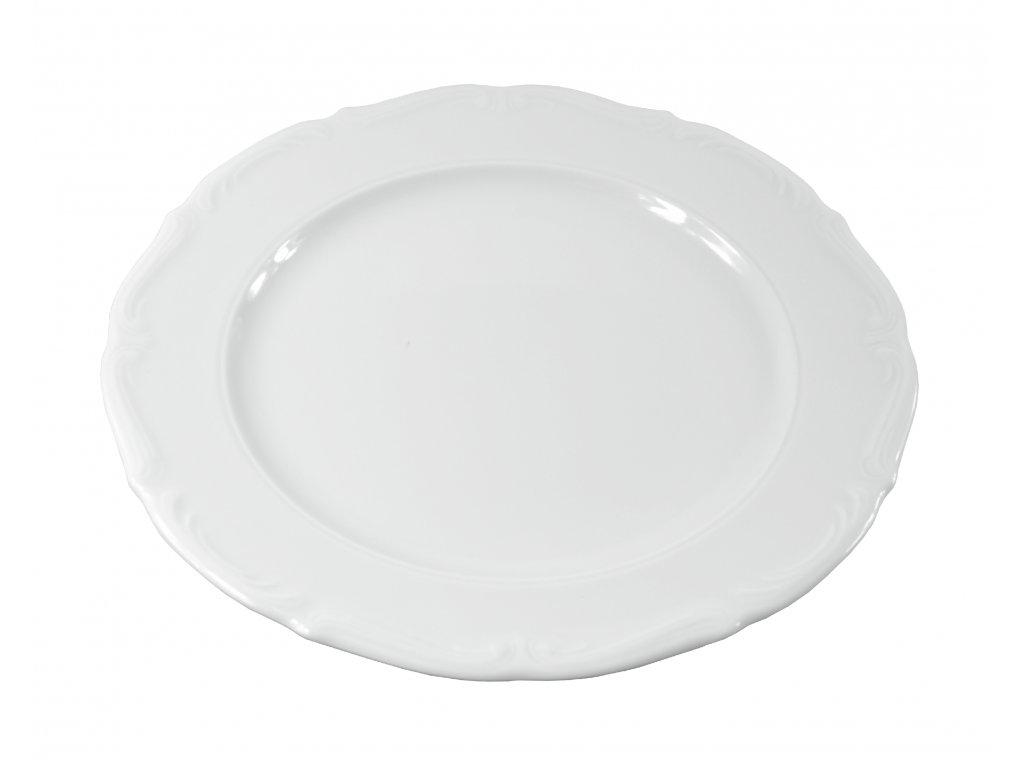 """Tanier plytký """"BAROK"""" porcelánový Ø 27 cm"""