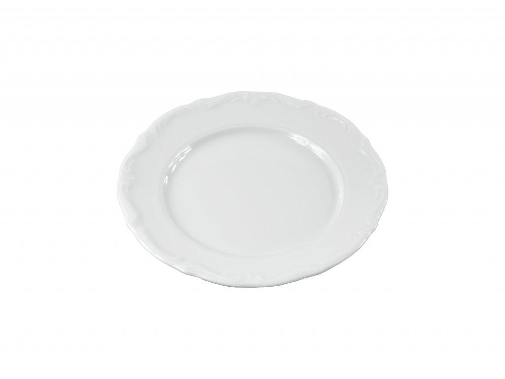 """Tanier plytký """"BAROK"""" porcelánový Ø 17 cm"""