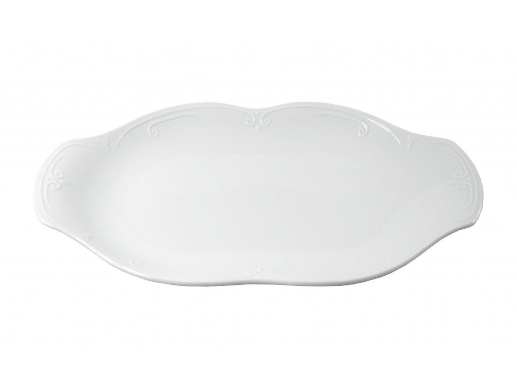 """Tanier oválny """"CASTELLO"""" porcelánový 33 cm"""