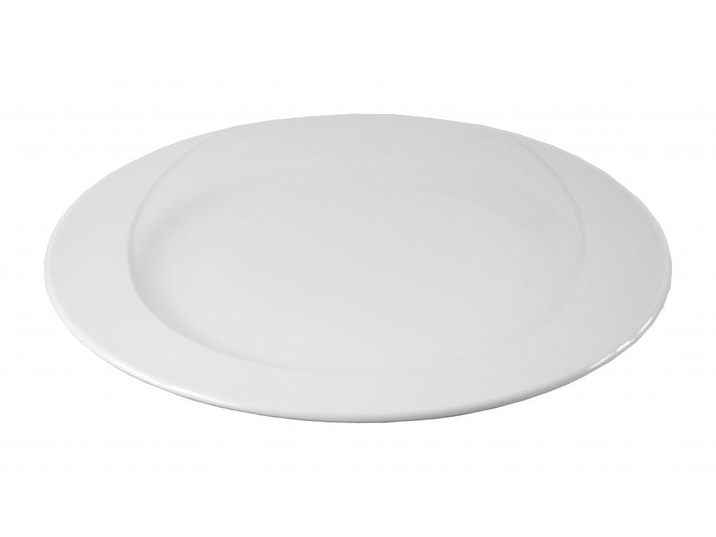 "Tanier plytký ""DELTA"" porcelánový Ø 32 cm"