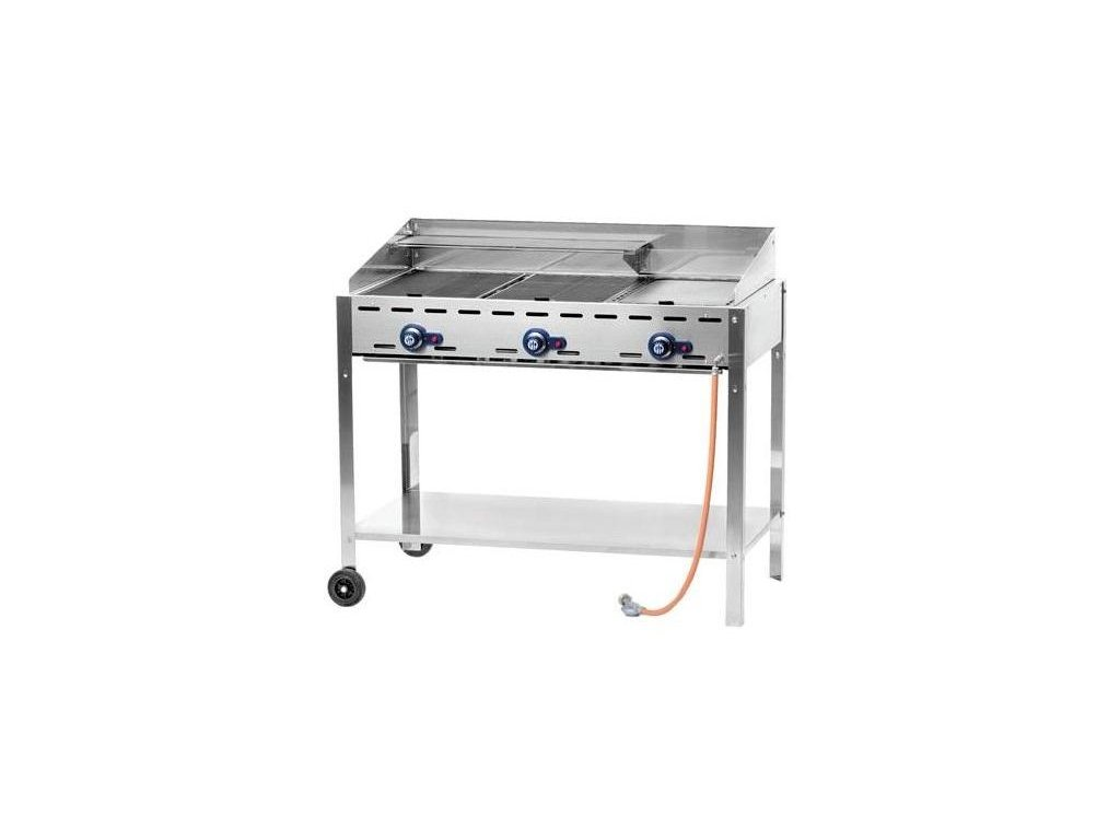 gril plynovy 3 horaky 107,8x61,2x82,5 cm