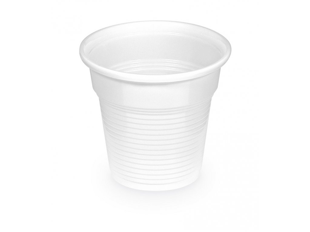 Pohár biely 0,08 l -PP- (Ø 57 mm) [100 ks]