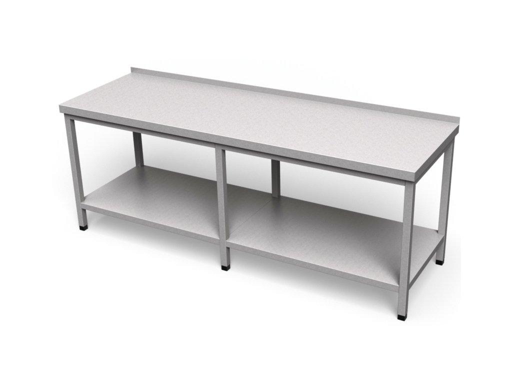 Pracovný stôl s policou dlhý PS 04