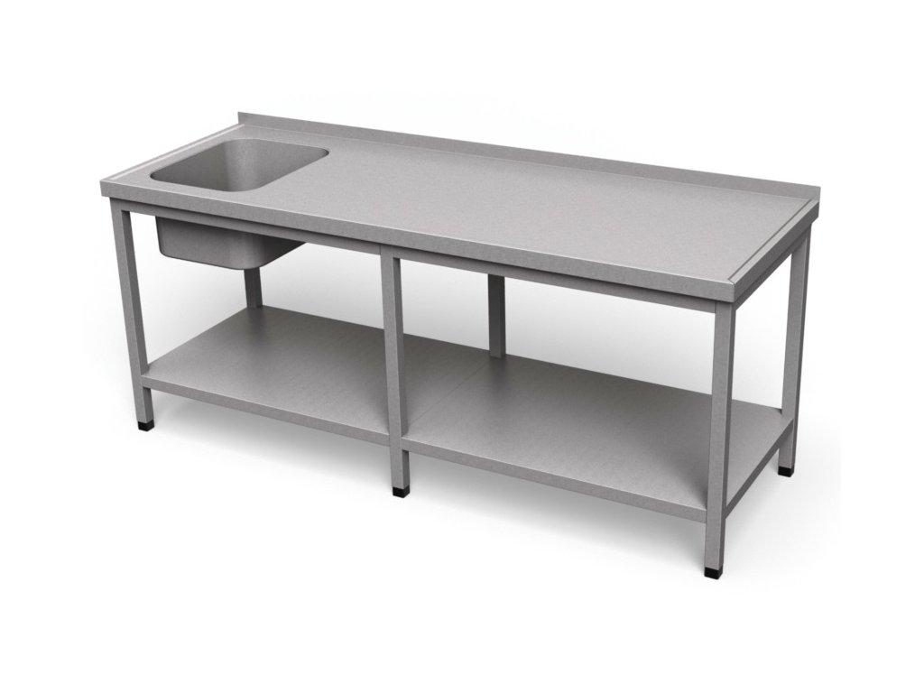 Umývací stôl s policou dlhý US 04