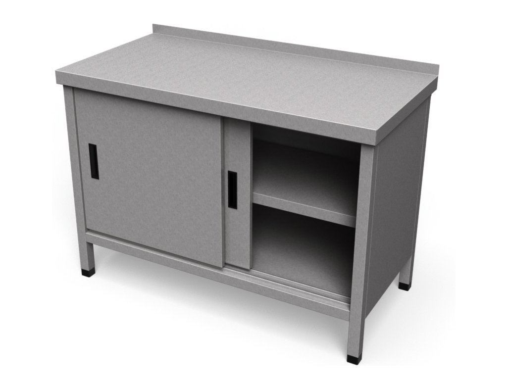 Pracovný stôl uzatvorený PS 31
