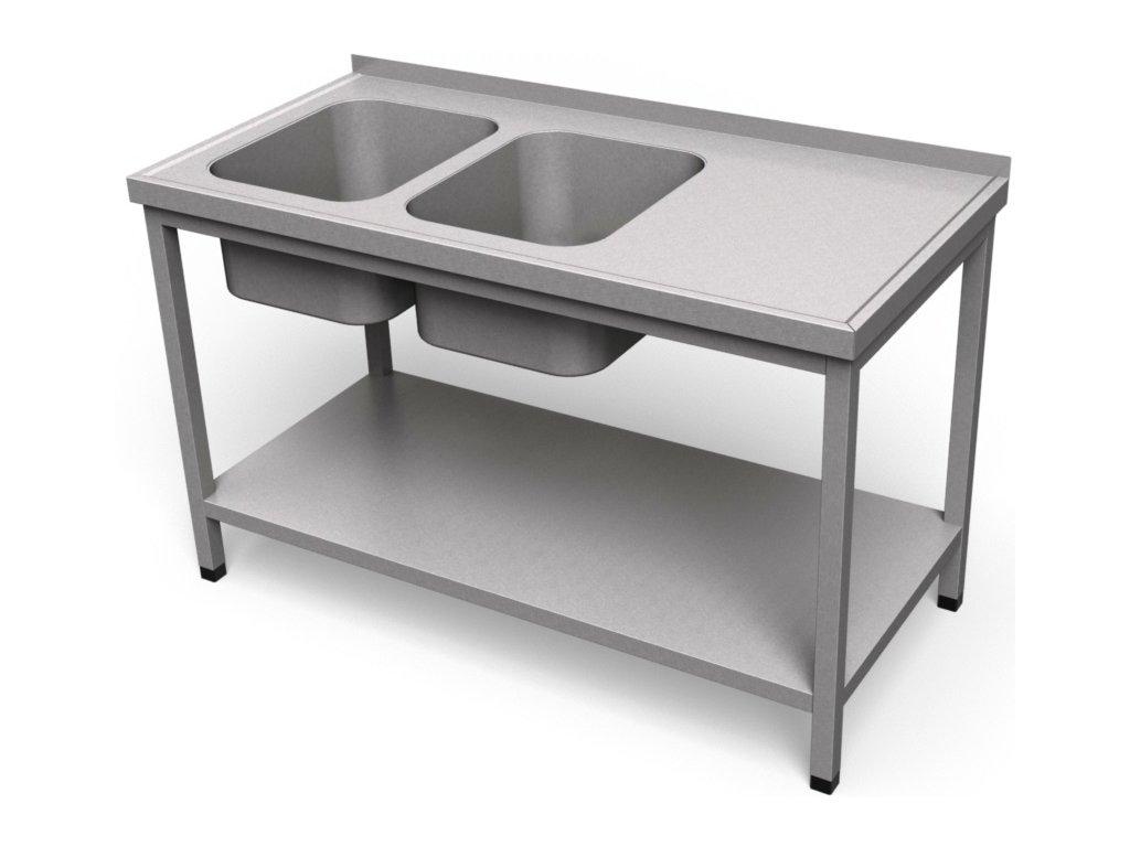 Umývací stôl s policou US 22