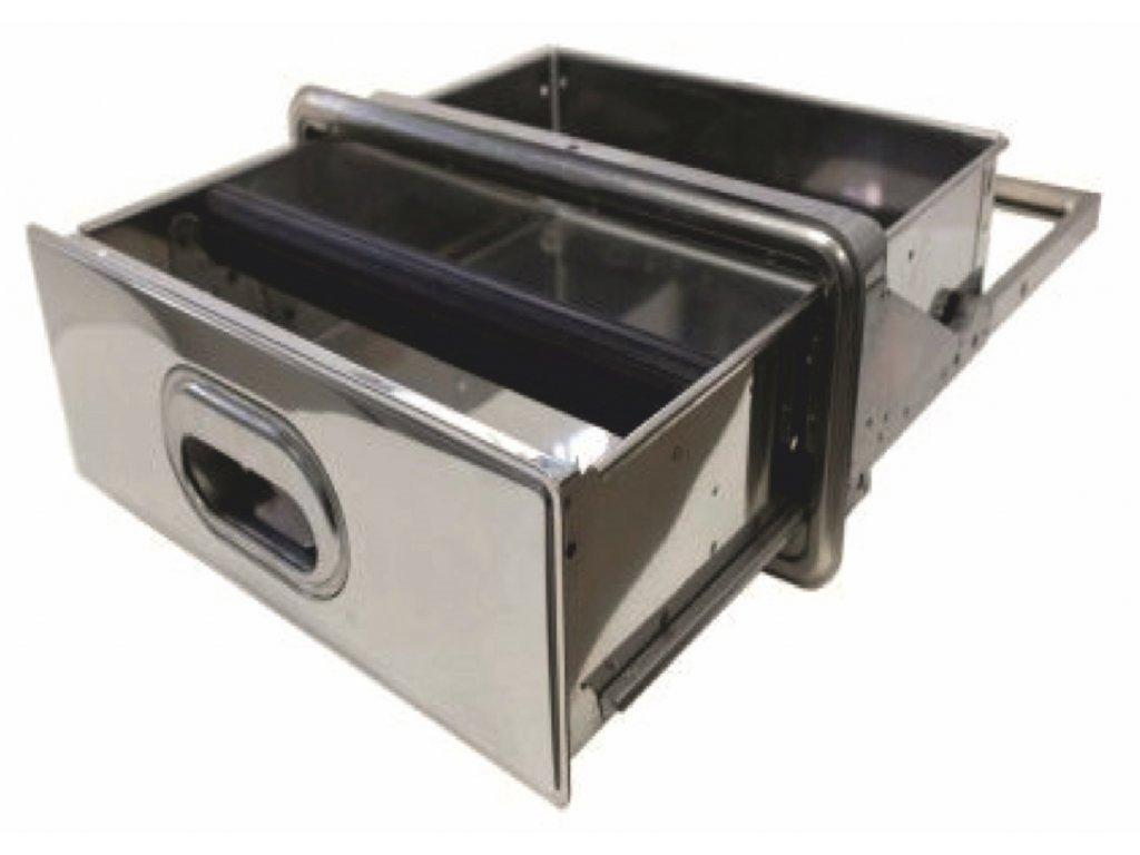 Zásuvka na oklep kávy do stola 34,7x40,5x13,2 cm