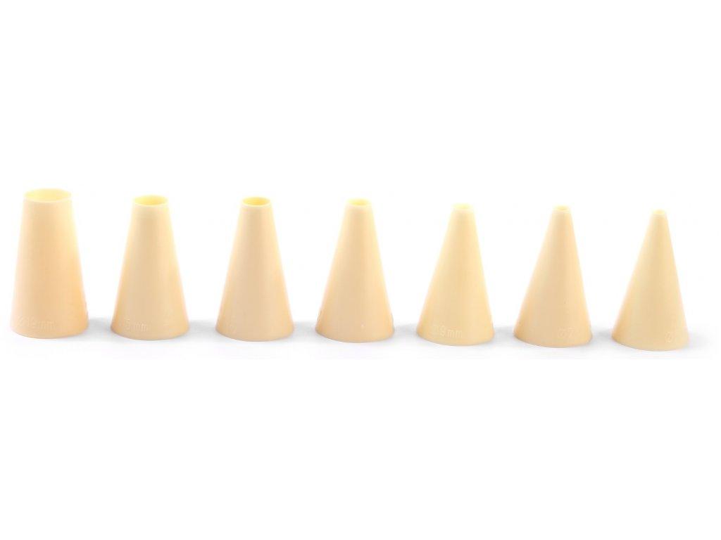Trysky plniace hladké Ø 5-7-9-11-13-15-17 mm