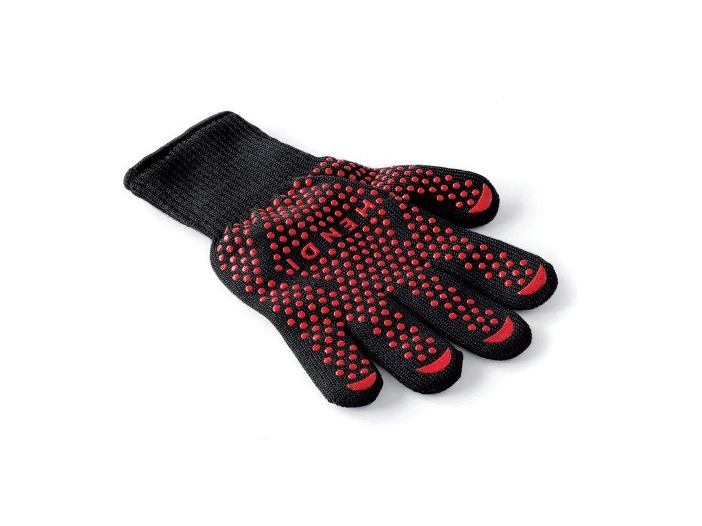 rukavice červene