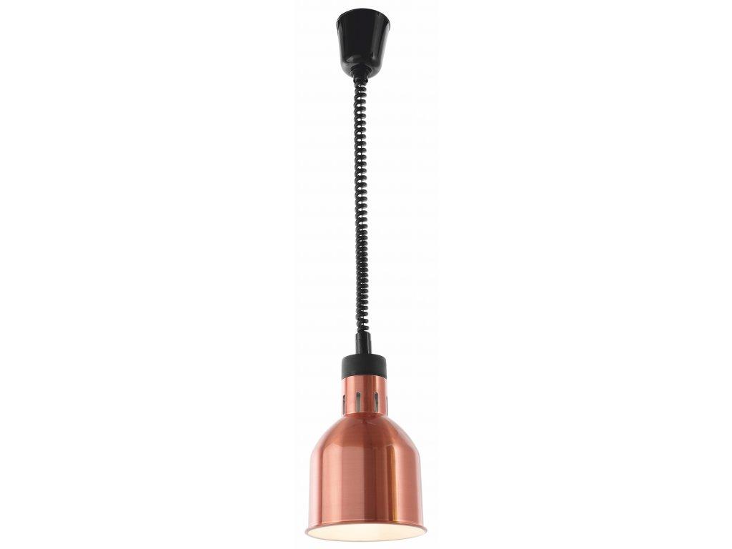 Ohrevná lampa medená Ø17cm