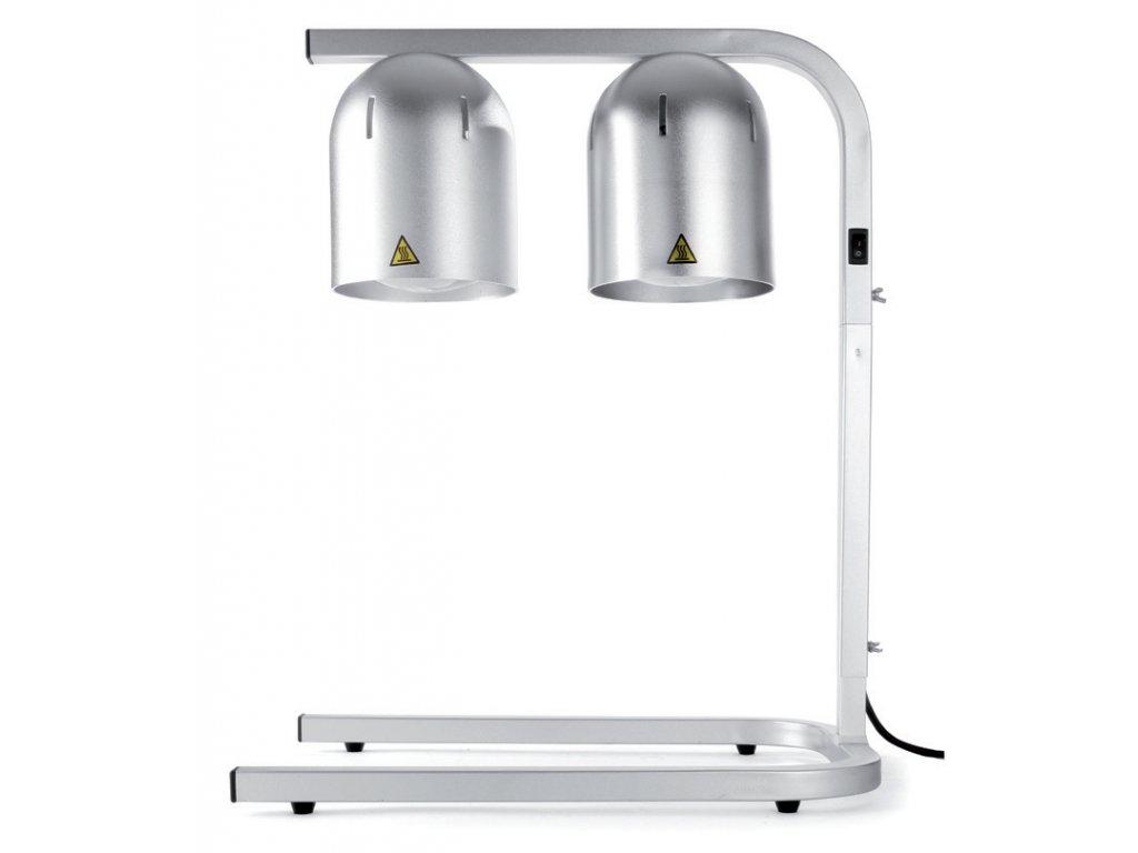 Lampy ohrevné strieborné