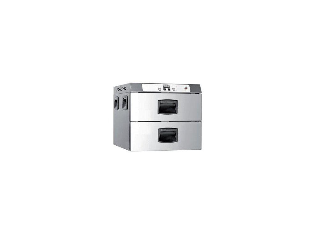 Holdomat zásuvkový - udržiavacia skriňa 2x GN1/1