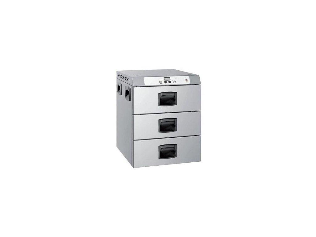 Holdomat zásuvkový - udržiavacia skriňa 3x GN1/1