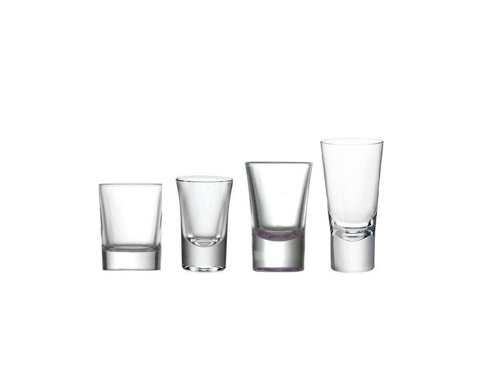 destiláty sklo