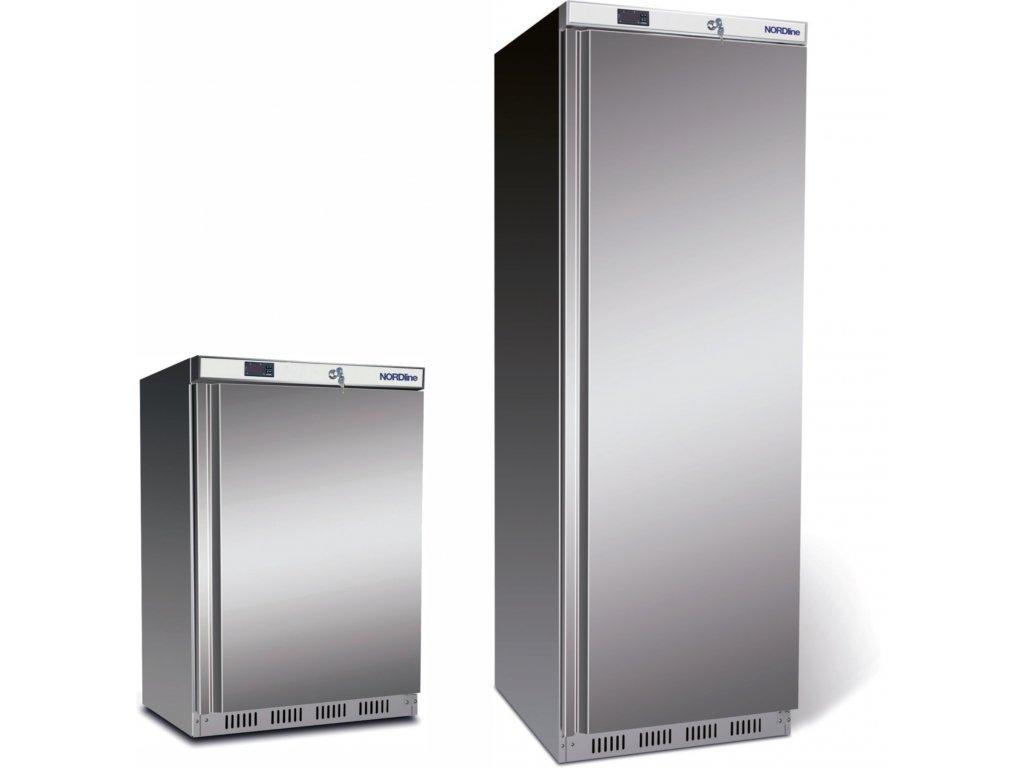 chladiace skrine nerez