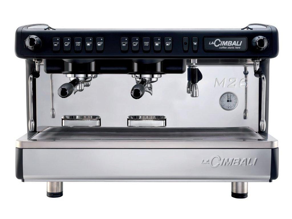 Kávovar dvojpákový čierny M26 BE